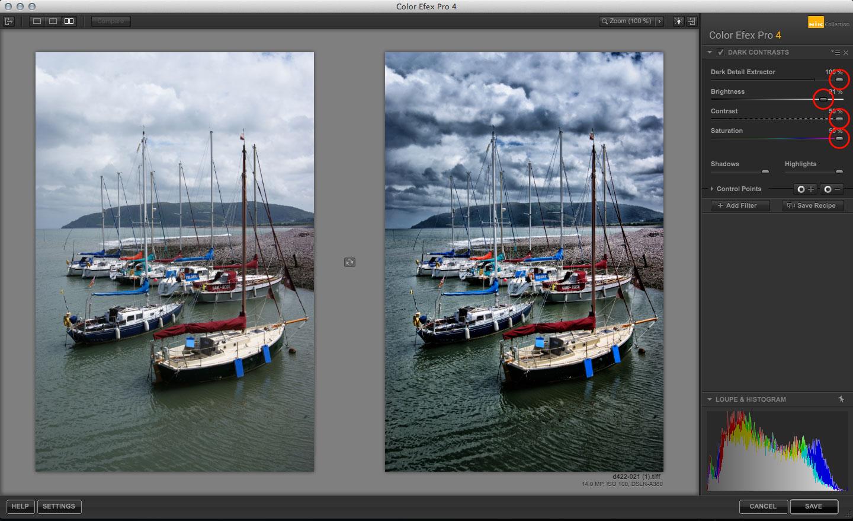 using the color efex pro dark contrasts filter life after photoshop. Black Bedroom Furniture Sets. Home Design Ideas