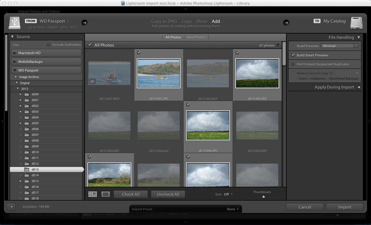 Lightroom RAW+JPEG pairs