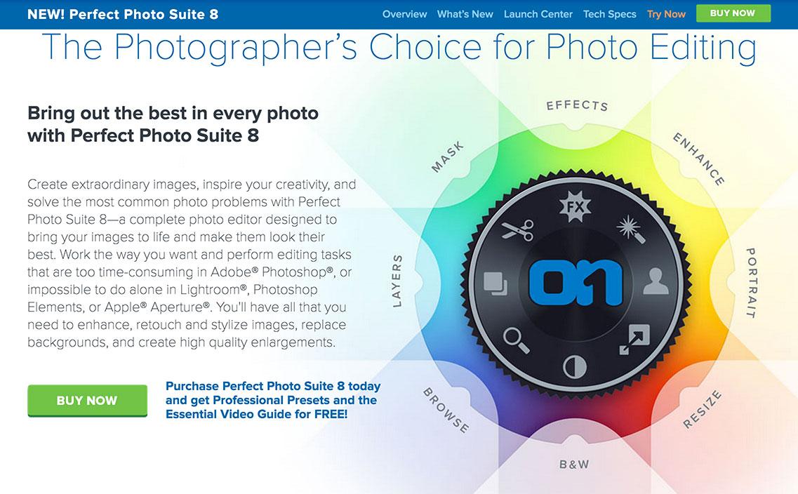 OnOne Perfect Photo Suite 8 Enhance module