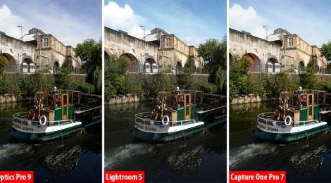 DxO vs Lightroom vs Capture One