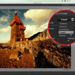 Try Color Efex Pro 4's Photo Styliser for a rich, warm landscape